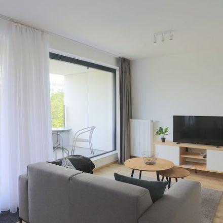 Rent this 1 bed apartment on Allée Verte - Groendreef 7 in 1000 Brussels, Belgium