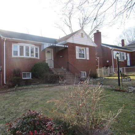 Rent this 4 bed house on 3537 56th Street in Hyattsville, MD 20784