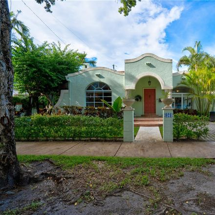 Rent this 3 bed house on 921 Messina Avenue in Coral Gables, FL 33134
