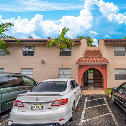 Rent this 2 bed apartment on 708 Southwest 81st Avenue in North Lauderdale, FL 33068