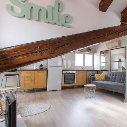 Rent this 1 bed apartment on Palacio de Escalona y Bornos in Calle de la Madera, 28001 Madrid