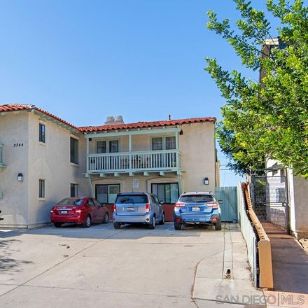 Rent this 1 bed townhouse on 3744 Grim Avenue in San Diego, CA 92104
