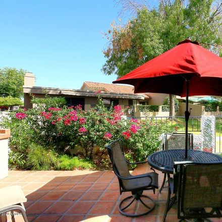 Rent this 3 bed townhouse on 10506 East Cinnabar Avenue in Scottsdale, AZ 85258