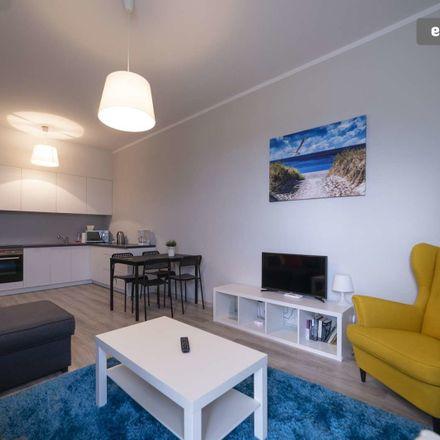 Rent this 1 bed apartment on Bolesława Chrobrego 96c in 80-414 Gdańsk, Polska