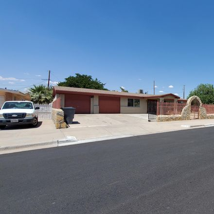 Rent this 3 bed apartment on 10457 Tomwood Avenue in El Paso, TX 79925