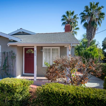 Rent this 4 bed house on 824 East Figueroa Street in Santa Barbara, CA 93103