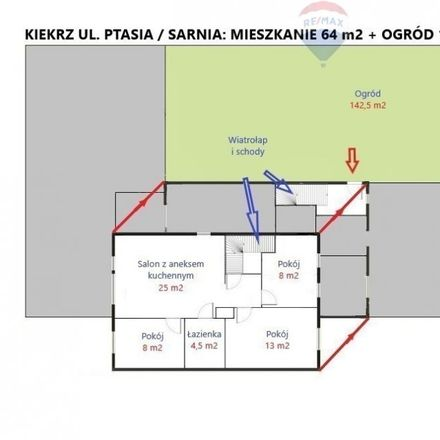 Rent this 4 bed house on Święty Marcin in 61-814 Poznań, Poland