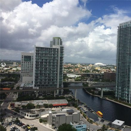 Rent this 3 bed condo on 68 Southeast 6th Street in Miami, FL 33131