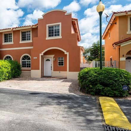 Rent this 3 bed townhouse on SW 78th Ave in Kendall, FL