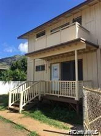 Rent this 3 bed townhouse on Farrington Hwy in Waianae, HI
