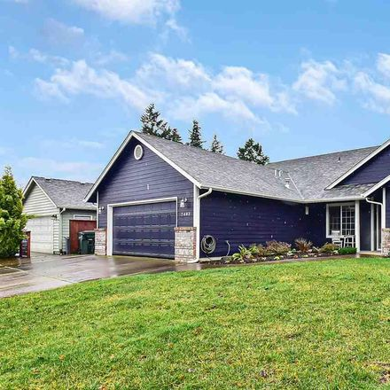 Rent this 4 bed house on 7483 Shadowwood Street Northeast in Keizer, OR 97303