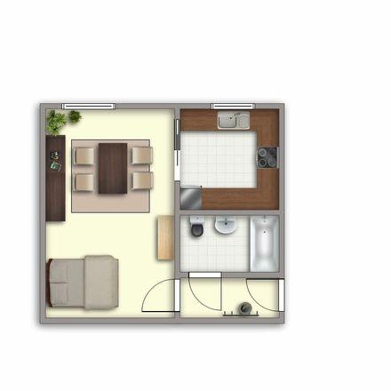 Rent this 1 bed apartment on Tschirchdamm 5 in 14772 Brandenburg an der Havel, Germany