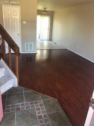 Rent this 3 bed townhouse on 6006 Colony Circle in Colorado Springs, CO 80919