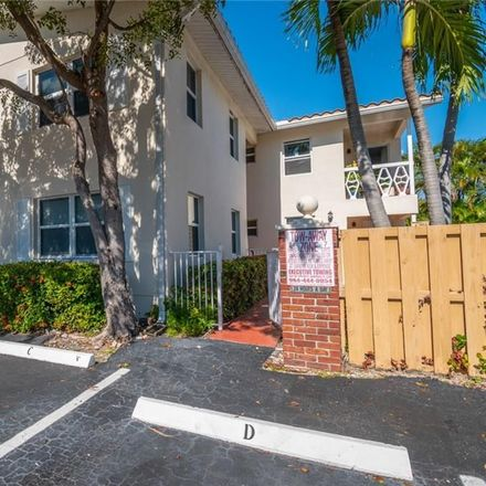 Rent this 1 bed condo on 2591 Northeast 55th Court in Fort Lauderdale, FL 33308
