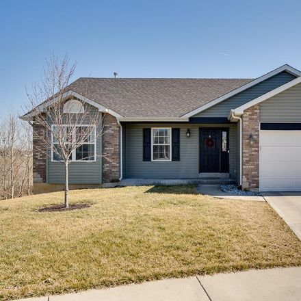 Rent this 3 bed house on 457 Ramblewood Way in Wentzville, MO 63385