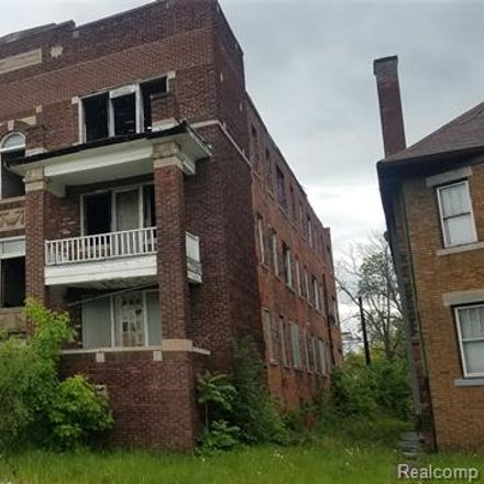 Rent this 0 bed apartment on 2903 Montgomery St in Detroit, MI
