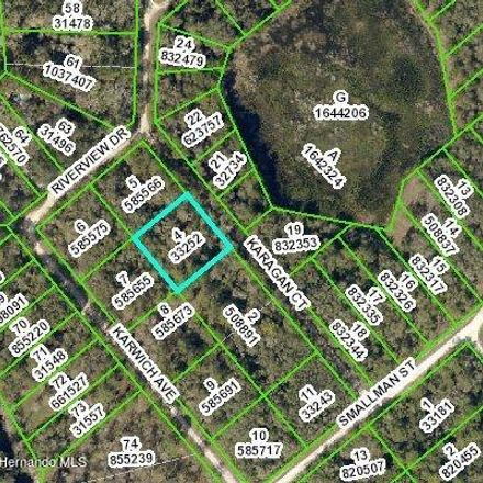 Rent this 0 bed apartment on Ridge Manor Blvd in Webster, FL