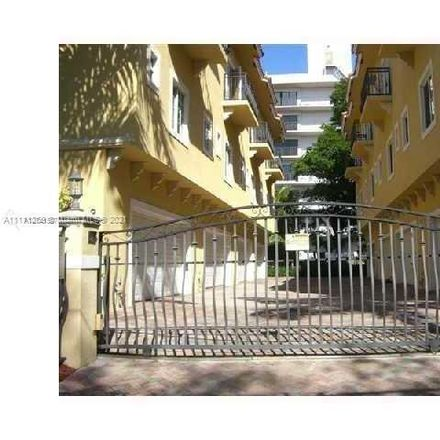 Rent this 2 bed townhouse on 2919 Coconut Avenue in Miami, FL 33133