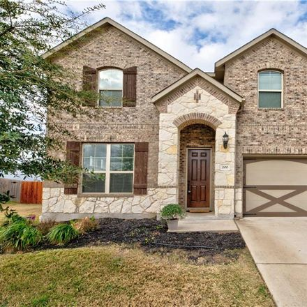 Rent this 4 bed house on Hot Spring Valley in Buda, TX