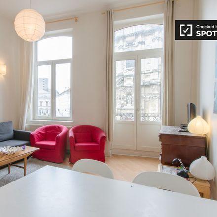 Rent this 1 bed apartment on Begijnhofkerk - Église du Béguinage in Place du Béguinage - Begijnhof, 1000 Ville de Bruxelles - Stad Brussel