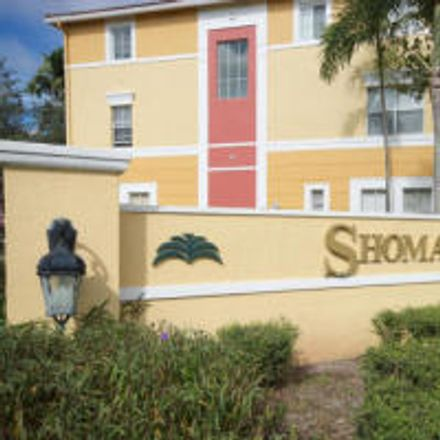 Rent this 3 bed townhouse on 2027 Shoma Drive in Royal Palm Beach, FL 33414