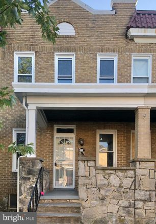 Rent this 3 bed townhouse on 4251 Nicholas Avenue in Baltimore, MD 21206