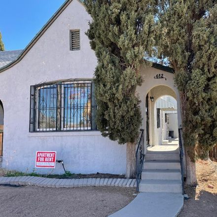Rent this 3 bed apartment on 612 Wellesley Road in El Paso, TX 79902