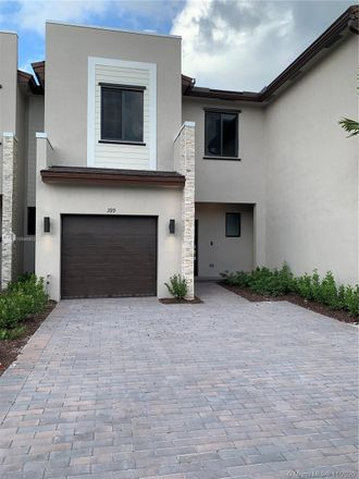 Rent this 3 bed townhouse on NE 211th Ter in Miami, FL