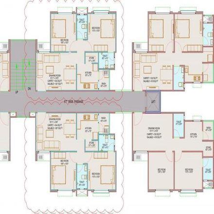 Rent this 1 bed apartment on Gandhinagar District in Shantigram - 382421, Gujarat