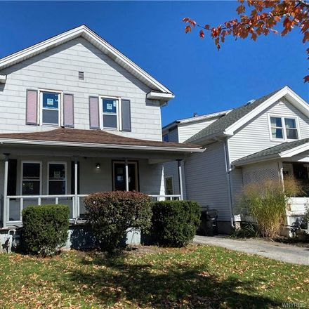 Rent this 3 bed house on 301 West Hazeltine Avenue in Kenmore, NY 14217