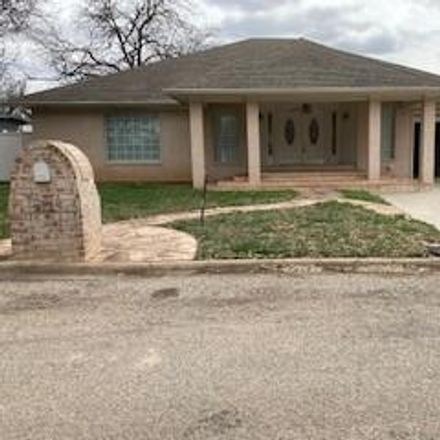 Rent this 4 bed house on 312 Hollywood Drive in Coleman, TX 76834