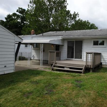 Rent this 3 bed house on Poinciana in Redford Township, MI 48240