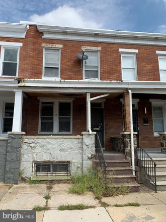 Rent this 3 bed townhouse on 2804 Ashland Avenue in Baltimore, MD 21205