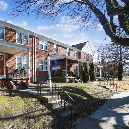 Rent this 3 bed townhouse on Alameda Marketplace in 5407 Purdue Avenue, Baltimore