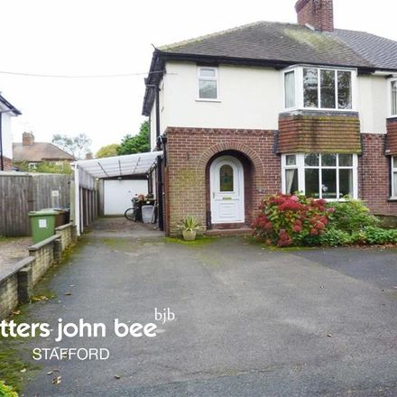 Rent this 3 bed house on Park Avenue in Stone ST15 0DW, United Kingdom