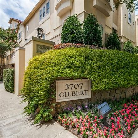 Rent this 3 bed condo on 3707 Gilbert Avenue in Dallas, TX 75219