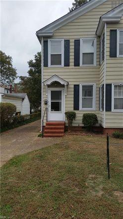 Rent this 2 bed duplex on 3205 Kenmore Drive in Hampton City, VA 23661