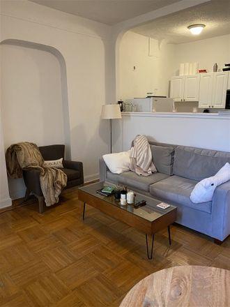 Rent this 1 bed apartment on Garlic & Tahini in 410 Washington Street, Hoboken