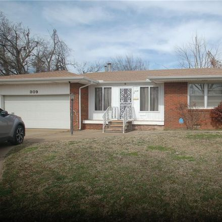 Rent this 3 bed house on 309 West Jarman Drive in Midwest City, OK 73110