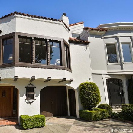 Rent this 4 bed house on 3140 Baker Street in San Francisco, CA 94123
