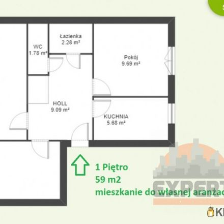 Rent this 3 bed apartment on Dziesięciny 54 in 15-818 Białystok, Poland