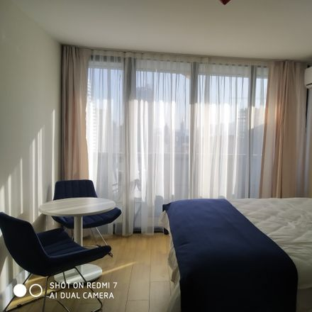 Rent this 1 bed apartment on ORBI Twin Tower in Sherif Khimshiashvili Avenue, 6015 Batumi
