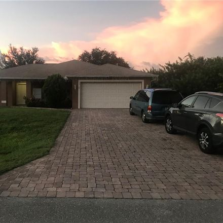 Rent this 3 bed house on 5314 Bygone Street in Lehigh Acres, FL 33971