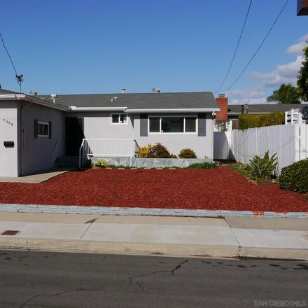 Rent this 3 bed house on 7384 Beal Street in San Diego, CA 92111