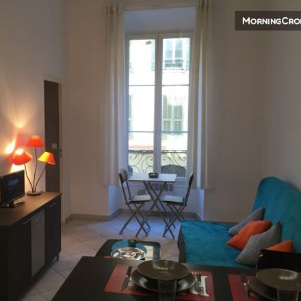 Rent this 1 bed apartment on Tout Pour La Musique in 4 Rue Defly, 06000 Nice
