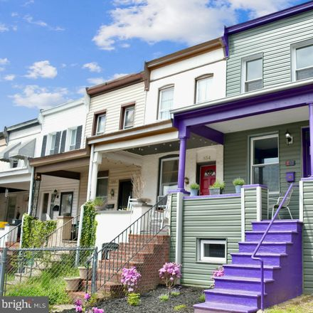 Rent this 2 bed townhouse on 852 West 33rd Street in Baltimore, MD 21211