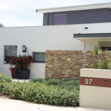 Rent this 1 bed apartment on Scaffell Gardens in Watermans Bay WA 6020, Australia