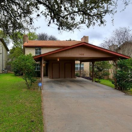 Rent this 2 bed duplex on 1408 Waterloo Trail in Austin, TX 78704