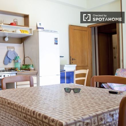 Rent this 1 bed apartment on Via Angelo Baldassarri in 00141 Rome RM, Italy