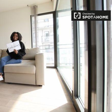 Rent this 2 bed apartment on Quai des Matériaux - Materialenkaai in 1000 Ville de Bruxelles - Stad Brussel, Belgium